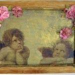 Купить картину Ангелы в цветах от AzaNova