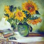 Купить картину «Цветок солнца» от AzaNova