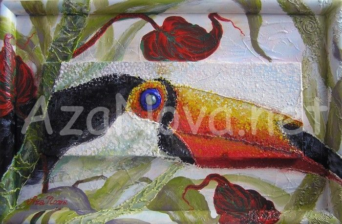 Купить картину «Экзотическая птица» от AzaNova