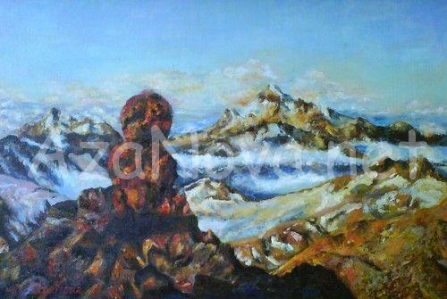 """Купить картину """"Красная скала"""" от AzaNova"""