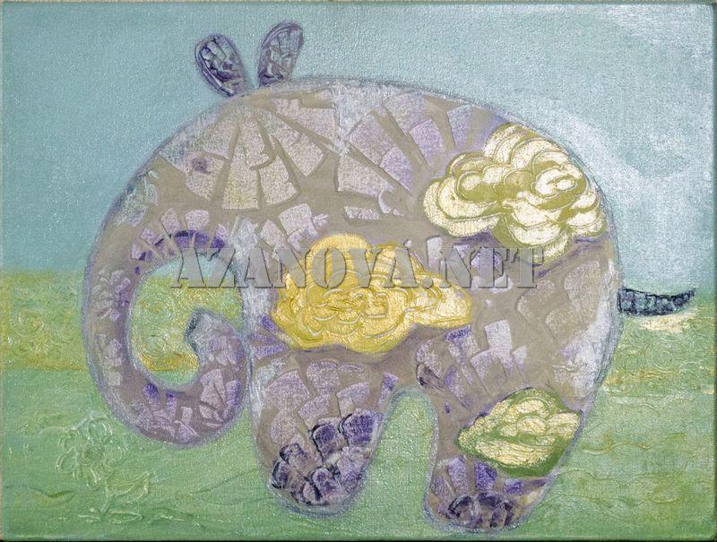 """Купить картину """"Облачный слоник"""" от AzaNova"""